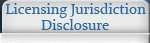 Licensing Jurisdiction Disclosure